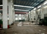 单层厂房1250平出租,高10米,带行车,适合机械设备