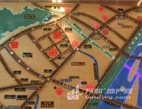 明发珠江国际 住宅底商  十字路口 现铺交付 稀缺现铺 大面积 可餐饮