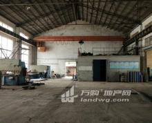 (出租) 湖熟周岗单层砖混结构机械厂房1350平米出租交通好