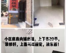 (出租) 安镇 无锡东站旁恒大城小区内铺 商业街商铺 21平米