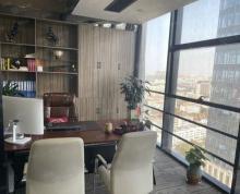 (出租)金融城精装办公室出租,116平4500一个月,随时看房