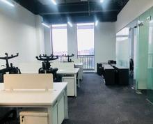 (出租)雨花客厅!绿地之窗紫悦广场丰盛商汇地铁口直达拎包办公