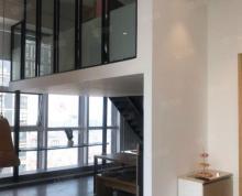 (出租)(专业写字楼)三盛国际广场 复试挑高180平 精装 靠万达