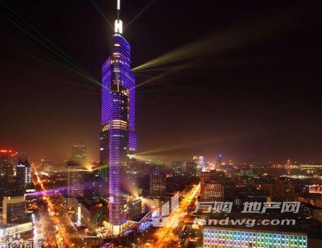 南京地标建筑 紫峰大厦旁 云峰大厦 整层出售 高档甲级
