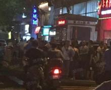 (出租)秦淮区三七八巷菜市场 300平纯一层 人流量极大 小区密集