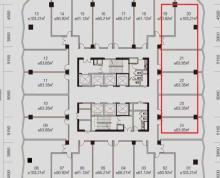 (出租)昌建中心,紧邻京华城,409平可分割