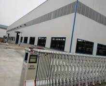 新建厂房出租,檐口高10米,配5吨行车2台,可用电量100KV,可根据需要安装变压器。