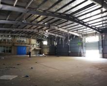 (出租)江宁上坊1000平标准钢结构仓库有场地可周转急租