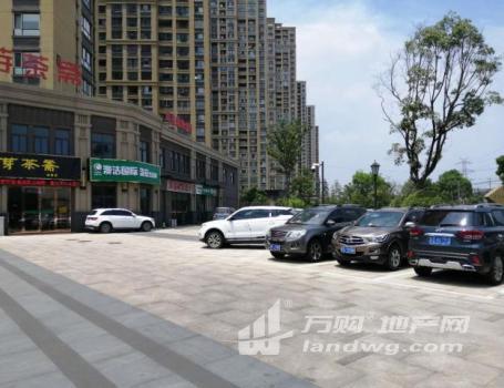 (出售)主干道十字路口转角纯一层双开间门前超大停车场无遮挡马杭路劲城