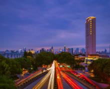 出租中山东路五星级酒店4层228平米办公区域