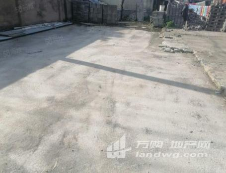 (出租)房源出租禄口张桥社区单层厂房1100平,水泥空地3亩,