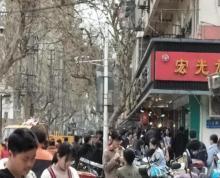 (出租)秦淮区来凤街旺铺,人流大,适合各类小吃!执照齐全可明火