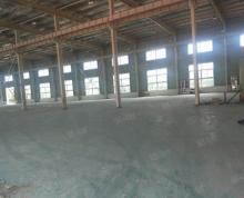 (出租)大车好进3800平方独栋钢架厂房出租1至2层