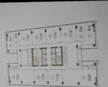 市中心 凤凰文化广场 纯写字楼 117平米