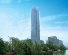 河西CBD地铁口《新地中心》金奥中心招银大厦 精装全套家具