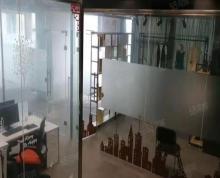 (出租)金融城精装修带隔断带桌椅210平边户,10万一年,随时看房!