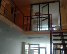 (出租)双子星写字楼复式两层126平米精装朝东办公桌椅齐全2100租