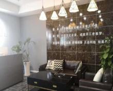 出租鼓楼江东苏宁睿城豪华装修,全套办公家具。