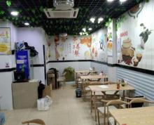 (转让)转好运天宁区红梅虹景路全新装修全新设小吃接受就能营业旺铺转让
