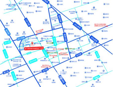 泰兴市雅居乐产业园独栋办公独栋厂房