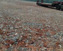 (出租)玉兰大道40亩空地,可分租,适合废铁打包,砂石堆放