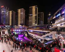 (出租)东二环泰禾 水秀广场一楼位置极好 人流量大适合零售