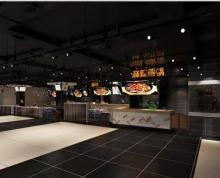 (转让) 万达广场二楼保真华龙仓超市堂食区招商