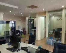 (出租)成贤大厦 大开间精装 办公家具全 业态不限浮桥地铁口