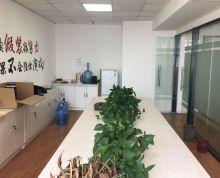 奥体中胜站(安科大厦)电梯口 精装修全套家具 拎包办公