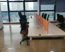 (出租)三盛国际广场写字楼出租240平复式6米挑高办公家具齐有钥匙