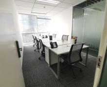 (出租)新地中心 精装修全套办公家具精品50 200平 一价全含