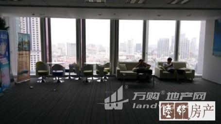 绿地广场紫峰大厦商务办公纯写精装360平整租