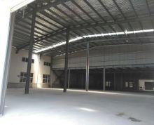 本公司现有仓库1600平米可做仓库、加工、物流等。500平米二层有货梯,价格面议