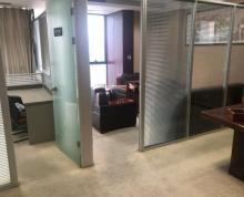 (出租)金融城附近华邦国际精装办公室出租,220平方有隔断,有桌椅