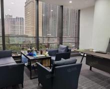 (出租)新区CBD天都大厦精装写字楼238平带隔断电梯口现房拎包办公
