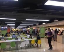 (转让)个人急租 万达广场美食城 可做各类餐饮小吃奶茶外卖 生意转让