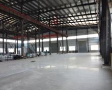(出租)肥西经开区单层钢结构厂房4500平,带行车,配电充足