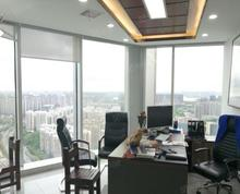 (出租)万科中心200平精装|全套家具|地铁口交通便利|远眺水库