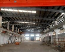 (出租)出租雨花区板桥新城机械厂房层高15米有行车17米大车进出方便