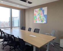 (出租)实拍湖西CBD苏悦广场精装150平带家具隔断采光好拎包办公
