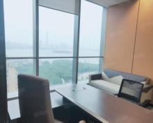 (出租)苏州中心350平 电梯口 豪装带家具湖景双地铁 清盘租