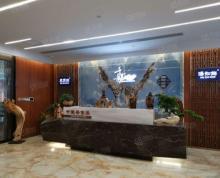 (出租)万达广场 豪装写字楼585平 办公桌椅齐全 拎包办公 随时看