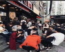 (出租)鼓楼区沿街美食城招商,可做任何餐饮,有煤气,人流大