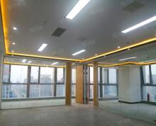 (出租)政务区天鹅湖万达|成熟商圈256平拎包入住|三面玻璃落地窗