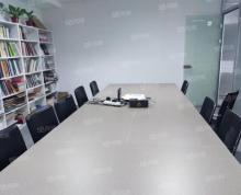 (出租)江北地标新城总部大厦全套家具4间办公室30人大厅东南边户实拍
