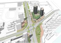 《宁高城际佛城西路站 综合开发特定规划区城市设计》及《南京 东山副城机场高速公路以西地区控制性 详细规划修编》Sob020I-06规划管理单元(埃斯顿地块)图则调整