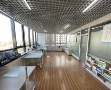 (出租)绿地瀛海办公楼240平米,精装修,带玻璃隔断,即租即用。