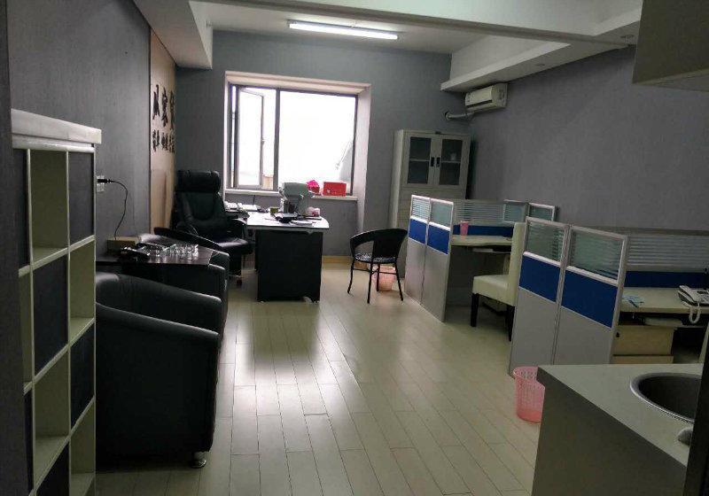 (出租)万达广场旁 万达东坊 精装55平办公可 带家具