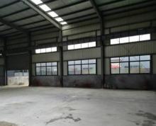 江宁湖熟一楼1000平 带5吨行车 大车好进出 厂区内环境好