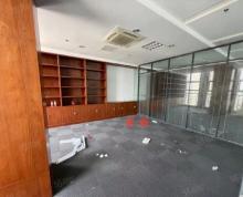 (出租)城西南,紫金大厦精装修230平带隔断8万一年,随时看房!